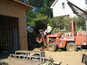 using the Ditch Witch