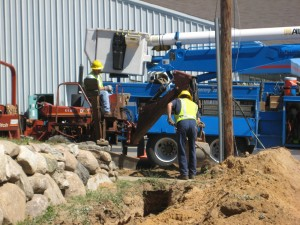 Consumers Energy working